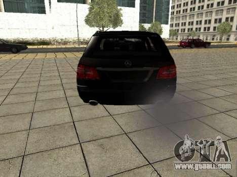 Mercedes-Benz w212 E-class Estate for GTA San Andreas right view