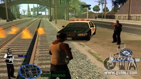 C-HUD Police for GTA San Andreas third screenshot