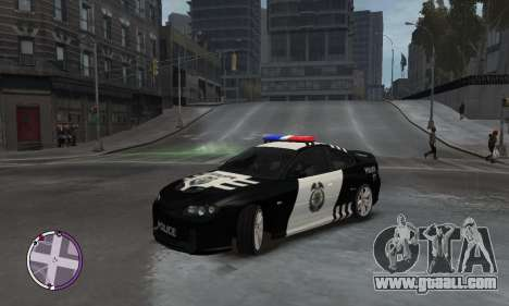Holden Monaro CV8-R Police for GTA 4