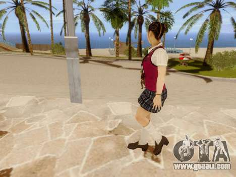 Hanako for GTA San Andreas seventh screenshot