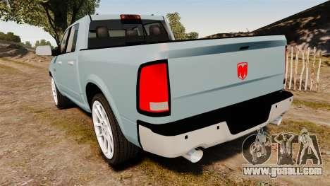 Dodge Ram 3500 Heavy Duty for GTA 4 back left view