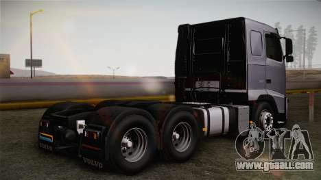 Volvo FH13 500 for GTA San Andreas back left view