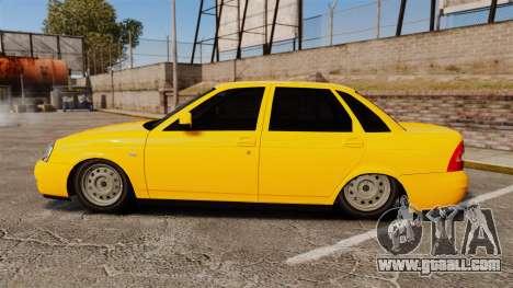 VAZ-Lada 2170 Priora for GTA 4 left view
