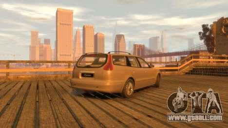 Daewoo Leganza Wagon for GTA 4 back left view