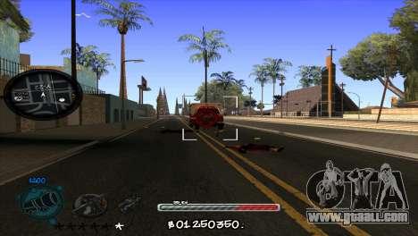 C-HUD by Jayson Wallace for GTA San Andreas third screenshot
