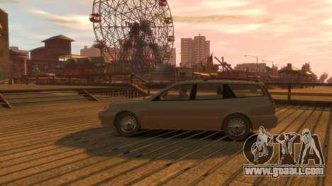 Daewoo Leganza Wagon for GTA 4 back view