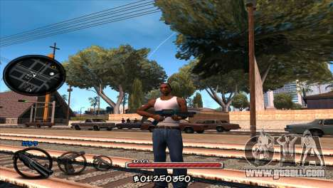 C-HUD by Jayson Wallace for GTA San Andreas