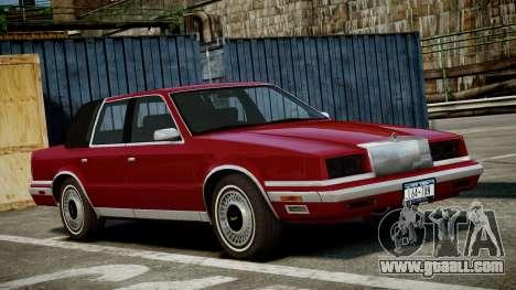 Chrysler New Yorker 1988 for GTA 4