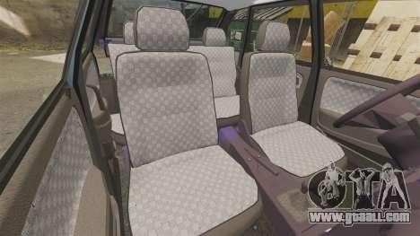 VAZ-2114 Samara-2 for GTA 4 upper view