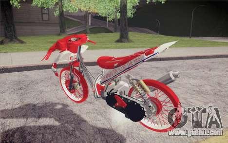 Vario Drag version JKT48 for GTA San Andreas left view