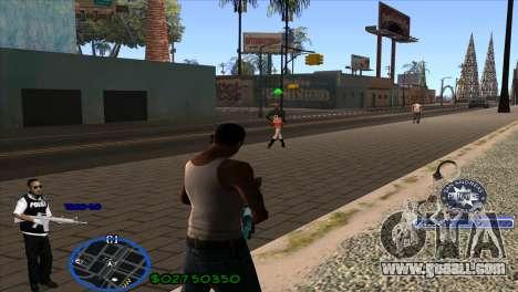 C-HUD Police for GTA San Andreas second screenshot