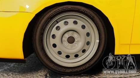 VAZ-Lada 2170 Priora for GTA 4 back view