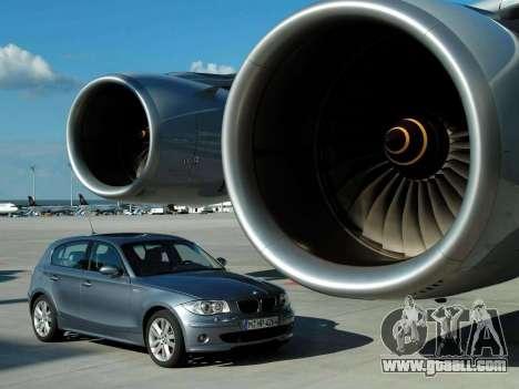 Boot screens BMW 120i for GTA 4 eighth screenshot