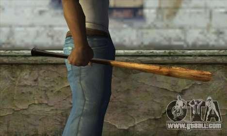 LCN Baseball bat for GTA San Andreas third screenshot