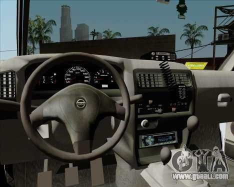 Nissan Terrano for GTA San Andreas bottom view