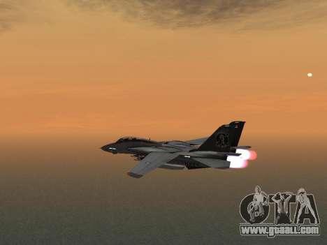 F-14 LQ for GTA San Andreas back view