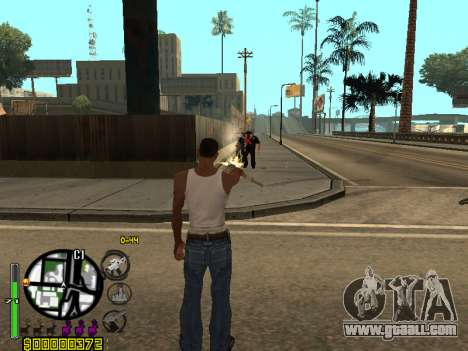 C-HUD by Leytenant for GTA San Andreas
