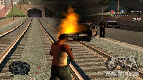 C-Hud by Stan Gomez for GTA San Andreas third screenshot