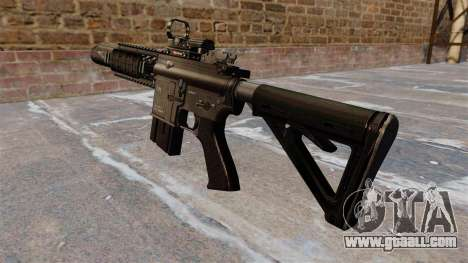 Automatic carbine M4A1 Navy SEAL for GTA 4 second screenshot