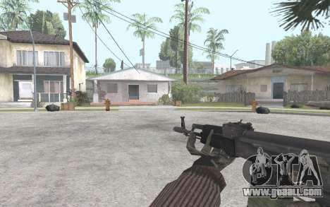 AK-101 for GTA San Andreas third screenshot