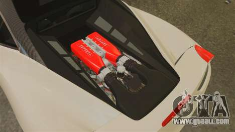 Ferrari 458 Italia 2011 for GTA 4 inner view