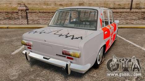 VAZ-Lada 2101 USSR for GTA 4 back left view