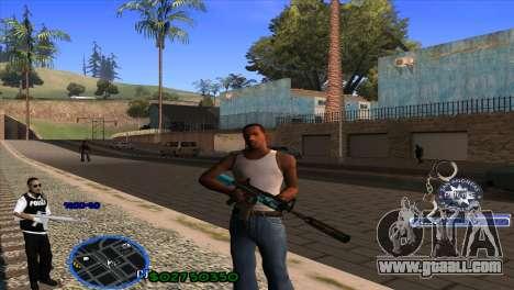 C-HUD Police for GTA San Andreas