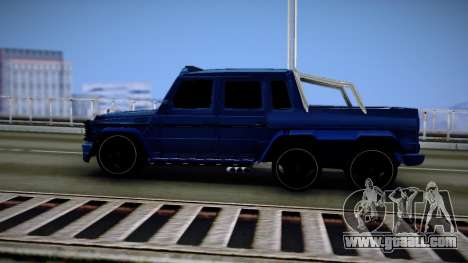 Mercedes-Benz G63 AMG 6x6 for GTA San Andreas right view
