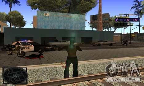 C-HUD Belenky for GTA San Andreas forth screenshot