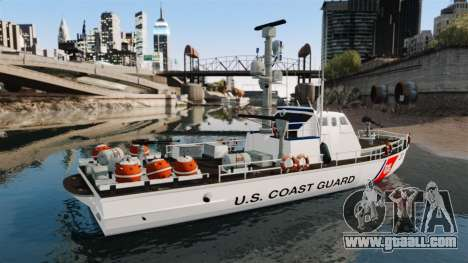 Gunboat U.S. Coastguard for GTA 4 left view
