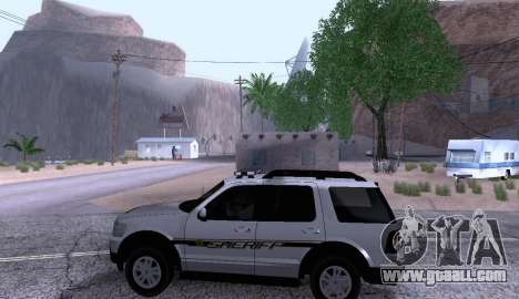 Ford Explorer Sheriff 2010 for GTA San Andreas left view