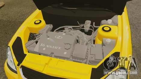 VAZ-Lada 2170 Priora for GTA 4 inner view