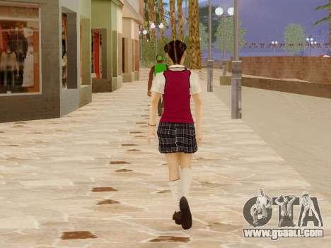 Hanako for GTA San Andreas sixth screenshot
