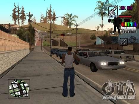 C-HUD A.C.A.B for GTA San Andreas