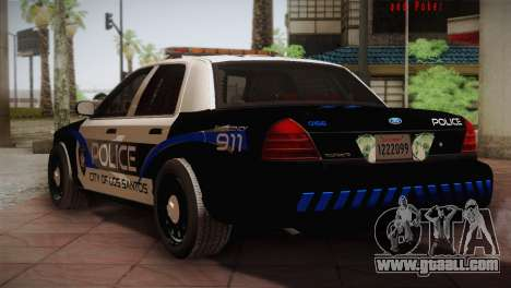 Ford Crown Victoria Police Interceptor 2009 for GTA San Andreas right view