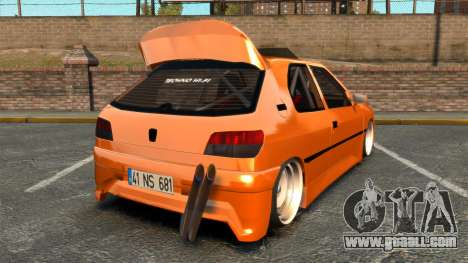 Peugeot 306 [RC] Unal Turan for GTA 4 back left view