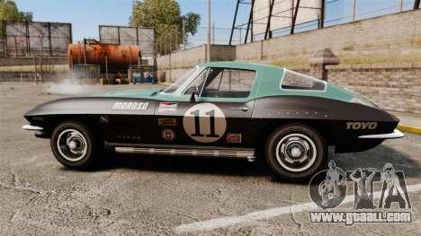 Chevrolet Corvette C2 1967 for GTA 4 left view