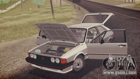 Volkswagen Scirocco S (Typ 53) 1981 HQLM for GTA San Andreas wheels