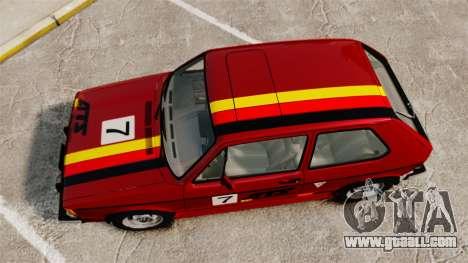 Volkswagen Rabbit GTI 1984 for GTA 4 right view