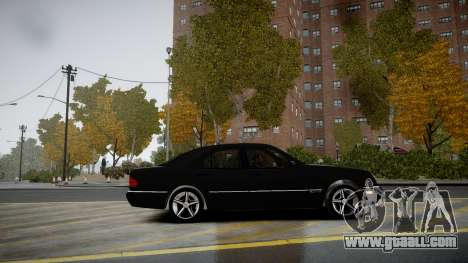 Mercedes-Benz E280 Beta for GTA 4 left view