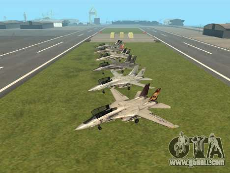 F-14 LQ for GTA San Andreas