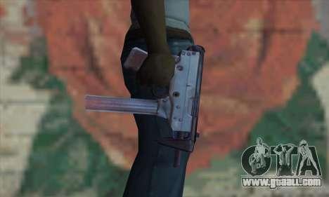 Tec-9 for GTA San Andreas third screenshot