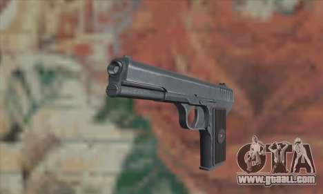 TT Pistol for GTA San Andreas