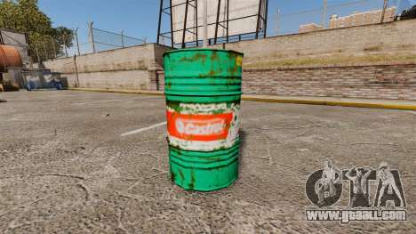 New coloring books for barrels for GTA 4 forth screenshot