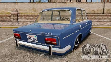 VAZ-2103 Lada for GTA 4 back left view