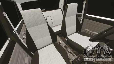 VAZ-2107 Lada for GTA 4 upper view