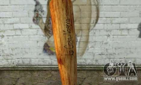 LCN Baseball bat for GTA San Andreas second screenshot