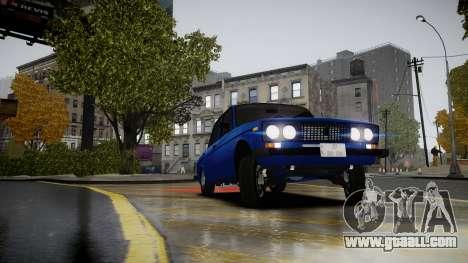 VAZ 2106 Baku for GTA 4 right view