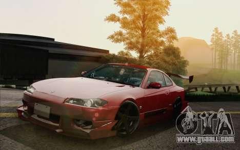 Nissan Silvia S15 GT Uras for GTA San Andreas