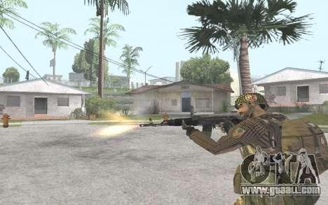 AK-101 for GTA San Andreas forth screenshot